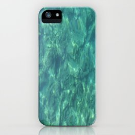 Ocean In Motion iPhone Case