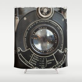 Photographers Dream II Vintage Camera Shower Curtain
