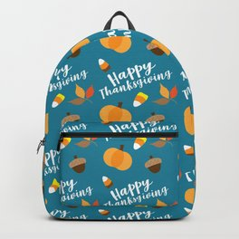Happy Thanksgiviing Backpack