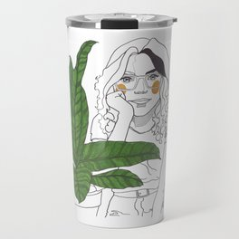 Green Time in the Meantime - 3 Travel Mug