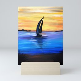 Sail Away Mini Art Print