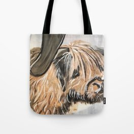 Highland Cow by Noelle's Art Loft Tote Bag