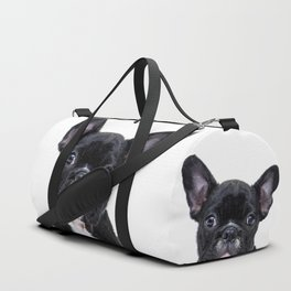 French bulldog portrait Duffle Bag