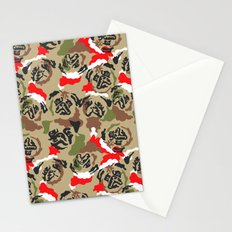 Pugly Camo X-Mas Stationery Cards