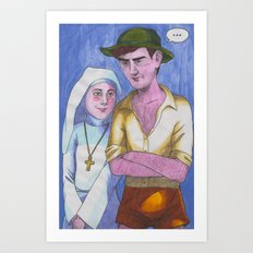 Sister Ruth Art Print
