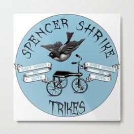 Shrike Trikes Boys Metal Print