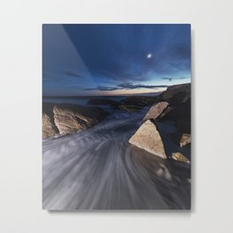 Twilight Rush Metal Print
