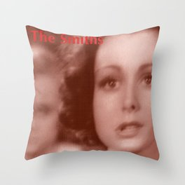 The Smiths: And I Was Bored Before I Even Began Throw Pillow
