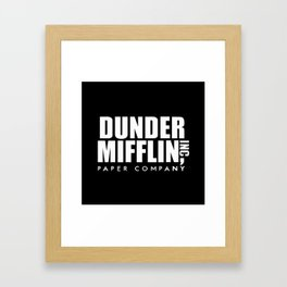 The Office Dunder Miflin Framed Art Print