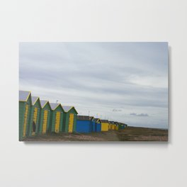 Littlehampton Beach_3 Metal Print