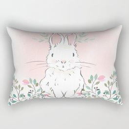 Magnolia Bunny Rectangular Pillow