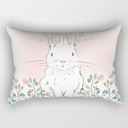 Magnolia Bunny Rectangular Pillow