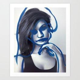 Tegan Art Print
