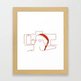 Relax II Framed Art Print