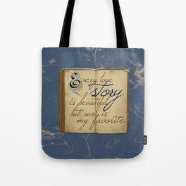"Fairy Tale Love ""My Favorite"" Tote Bag"