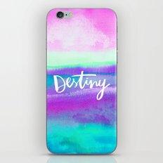 Destiny [Collaboration with Jacqueline Maldonado] iPhone & iPod Skin