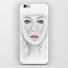 Porcelain Beauty iPhone & iPod Skin