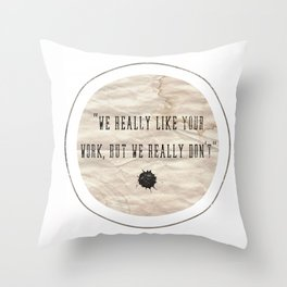 but Throw Pillow