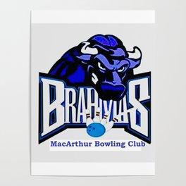 MacArthur Bowling Club Patch Poster