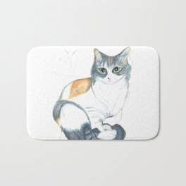 Lovely Mazapan Bath Mat
