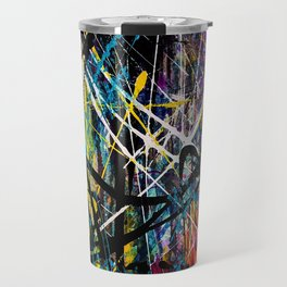 Mystery of the rainbow spider Travel Mug