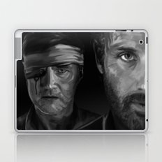 Rick and The Governor Laptop & iPad Skin