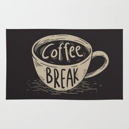 Coffee Break Painting Artwork Rug