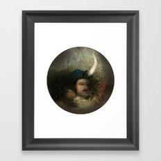 new moon revolution Framed Art Print