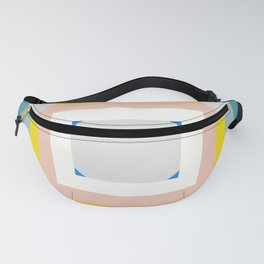 Abstract Geometric Artwork Fanny Pack