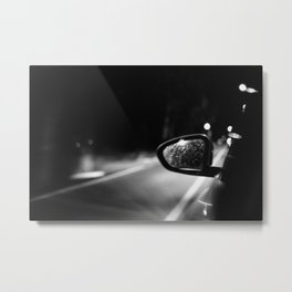 Be Quiet and Drive Metal Print