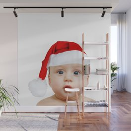 baby Santa Wall Mural