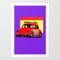 volkswagen Art Prints featuring VolkSWAGen by Colby Gray