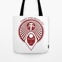 Legend of Korra- Amon - Fight for Equality Tote Bag