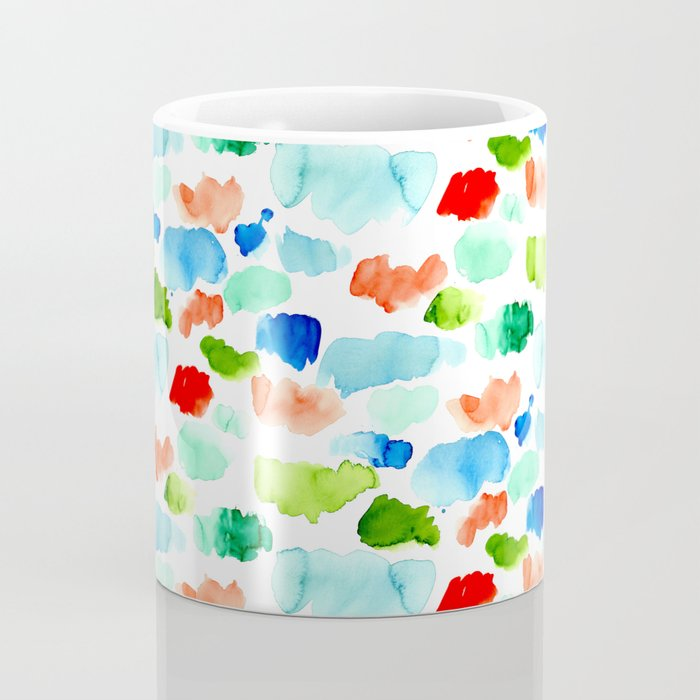 Watercolor Swatch Pattern Coffee Mug