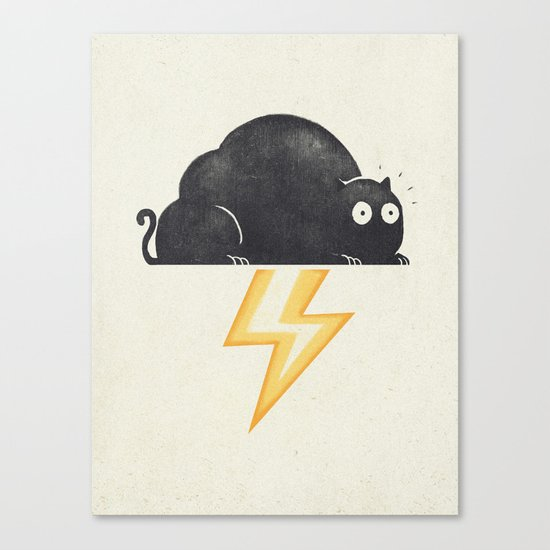 The Thunder Cat Canvas Print