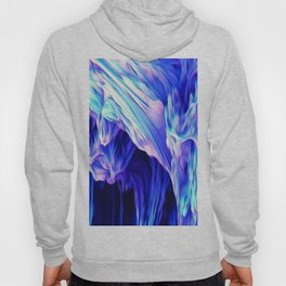 oil,abstract, pattern Hoody