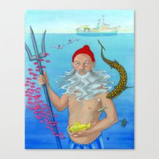 Ruler of the Deep Canvas Print