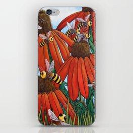 Bee Happy by DeeDee Draz iPhone Skin