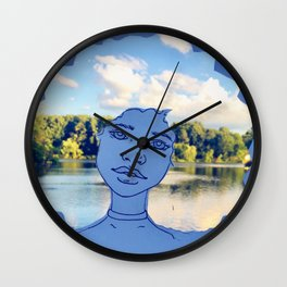 The Scenic View Wall Clock