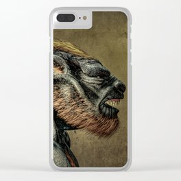 Portrait of a Werewolf Clear iPhone Case
