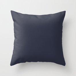 Basic Colors Series - Dark Blue Throw Pillow