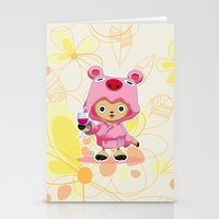 one piece Stationery Cards featuring One Piece: TonyTony Chopper by Neo Crystal Tokyo