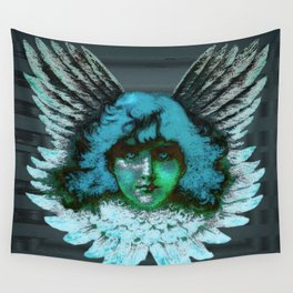 Blue Seraph Wall Tapestry