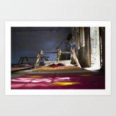 Light. Colour. Pattern Art Print