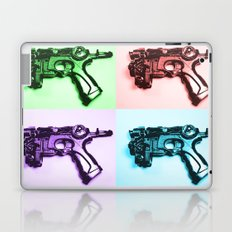 Ray Gun A Laptop & iPad Skin