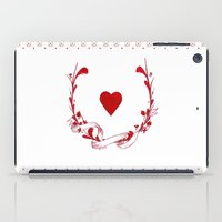 poker iPad Cases featuring POKER HEART  by Noly Riv Mir