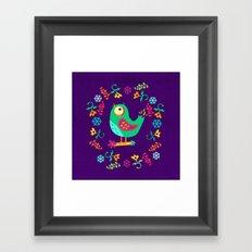 Birdy II Framed Art Print