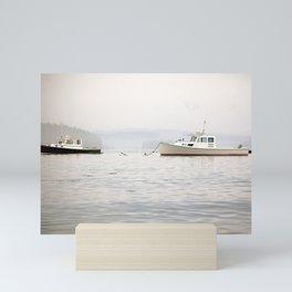 Maine Boats Mini Art Print