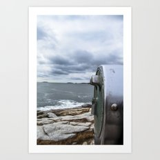 Ocean With a View Art Print