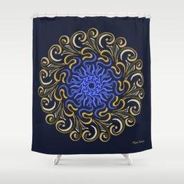 Escudo Celta - Celt Shield (Escudo para Héroes) Shower Curtain